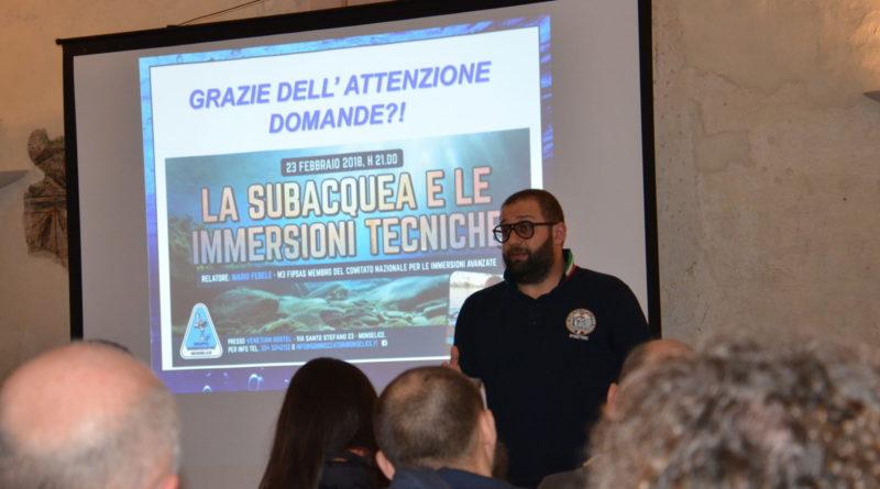 Febbraio 2018: Foto Evento La Subacquea Tecnica